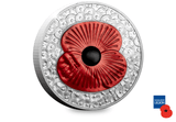 The 2019 Masterpiece Poppy Silver 5oz Coin - The Westminster Collection International
