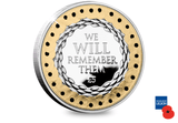 2019 Remembrance Poppy Silver Proof £5 Coin - The Westminster Collection International