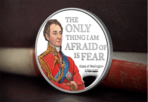 The Duke of Wellington Silver Proof Five Pound - The Westminster Collection International