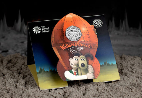 UK 2019 Wallace & Gromit 50p BU Pack - The Westminster Collection International