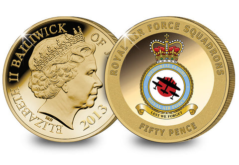 The Battle of Britain Memorial Flight Coin - The Westminster Collection International