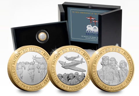 2020 Battle of Britain 80th Anniversary Silver Proof £2 Collection