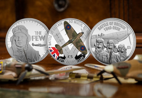 Battle of Britain 80th Anniversary Silver £5 Set