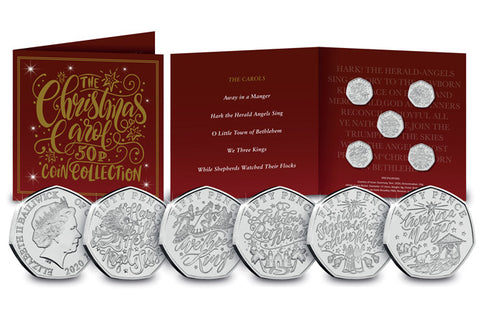 The Christmas Carol 50p Coin Collection Pack