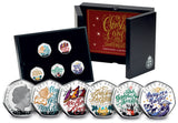 The 2020 Christmas Carol Silver Proof 50p Coin Collection