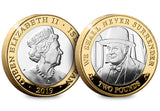 The D-Day Leaders Three Coin Silver Proof Two Pound Set - The Westminster Collection International