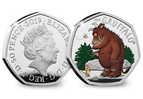 UK 2019 The Gruffalo & Mouse Silver 50p