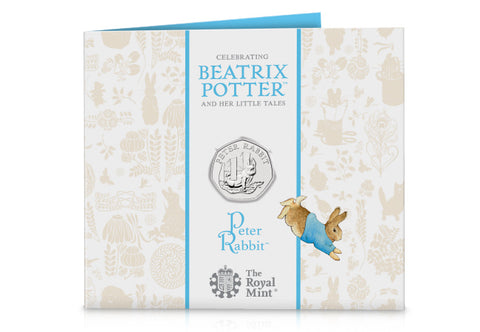 UK 2020 Peter Rabbit 50p BU Pack