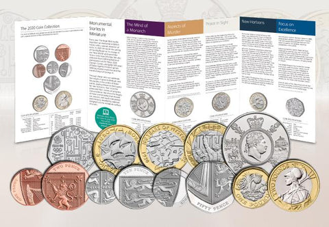 UK 2020 Annual Coin Set BU Pack - The Westminster Collection International