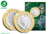 The 60th Anniversary of Jersey Zoo £2 Coin - The Westminster Collection International