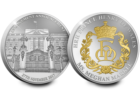 The Royal Engagement Silver Commemorative