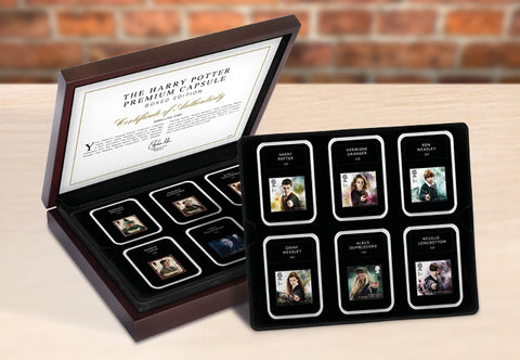 Harry Potter Stamps Premium Capsule Boxed Edition - The Westminster Collection International