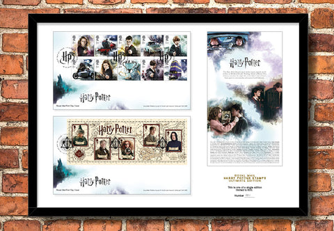 Harry Potter Ultimate Framed Stamps - The Westminster Collection International