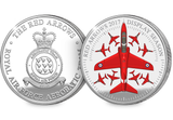 The Red Arrows 2017 Display Season Silver Medal - The Westminster Collection International