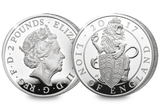 The 2017 Royal House of Windsor Silver Coin Set