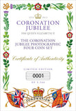 The Coronation Jubilee Four Coin Set