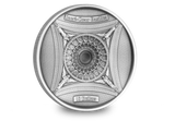 The Sacré-Cœur Basilica Deep Relief Silver Coin - The Westminster Collection International