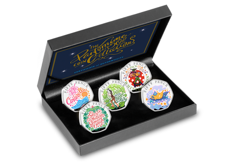 2019 Christmas Pantomime Silver Proof 50p Set - The Westminster Collection International