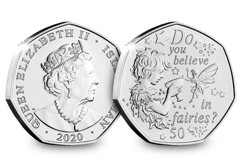The 2020 Official Peter Pan 50p Coin