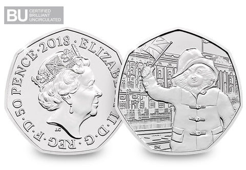 2018 UK Paddington at Palace CERTIFIED BU 50p - The Westminster Collection International