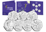 The Official Peter Pan 50p Set - The Westminster Collection International