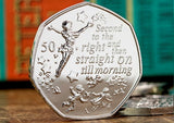 The Official Peter Pan 50p Coin - The Westminster Collection International