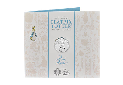 UK 2019 Peter Rabbit 50p BU Pack - The Westminster Collection International