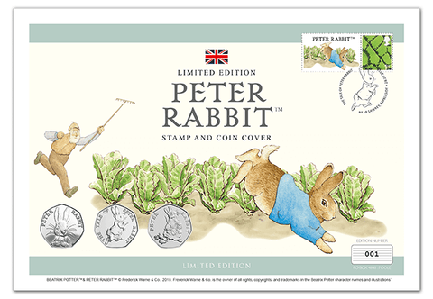 Peter Rabbit UK Ultimate Coin Cover - The Westminster Collection International