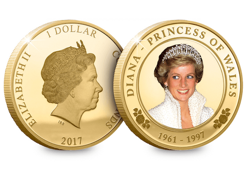 Princess Diana 20th Anniversary Coin