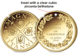 The 2018 Royal Baby Gold-Plated Medal - The Westminster Collection International