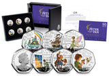 The 2020 Official Peter Pan Silver Proof 50p Set