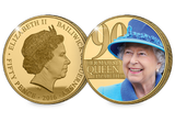 The Queen Elizabeth II 90th Birthday Coin Pair