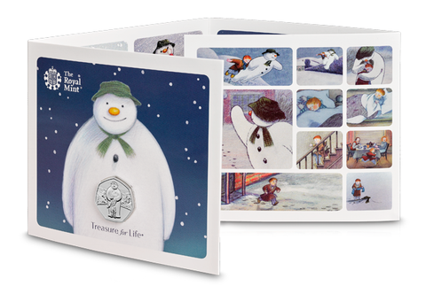 The Snowman™ 2019 UK 50p BU Pack