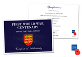 The First World War Centenary Poppy Coin Collection - The Westminster Collection International