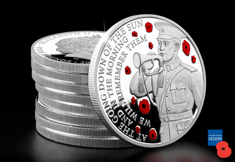 The First World War Centenary Silver Proof Five Pound Coin - The Westminster Collection International
