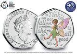 The 2020 Tinker Bell Colour 50p Notecard