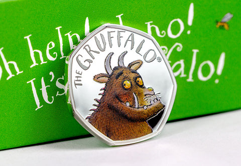 UK 2019 The Gruffalo 50p Silver Proof - The Westminster Collection International