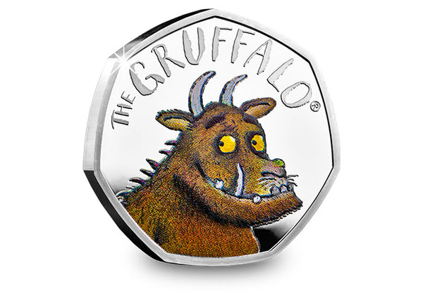 Uk 2019 The Gruffalo 50p Silver Proof The Westminster