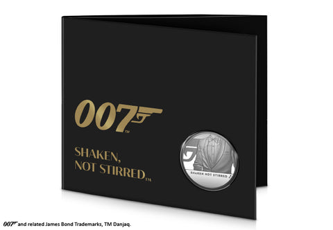 UK 2020 Shaken Not Stirred £5 BU Pack (Bond 3)