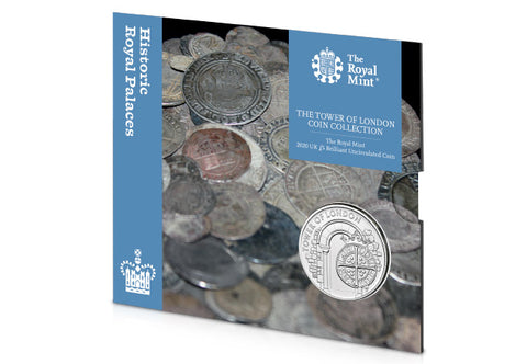 UK 2020 The Royal Mint Tower of London BU £5