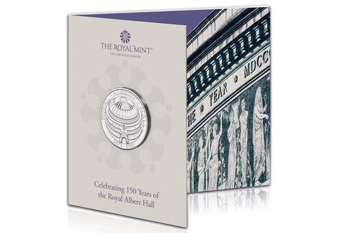 UK 2021 Royal Albert Hall £5 BU Pack