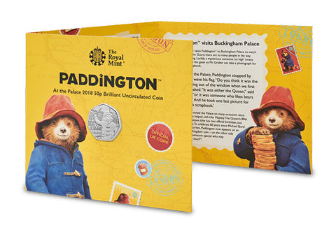 UK 2018 Paddington at the Palace 50p BU Pack - The Westminster Collection International