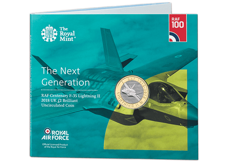 UK 2018 RAF Lightning £2 BU Pack - The Westminster Collection International