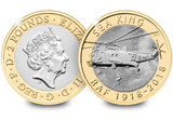 UK 2018 RAF Sea King £2 BU Pack - The Westminster Collection International