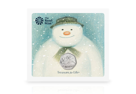 UK 2018 Snowman 50p BU Pack - The Westminster Collection International