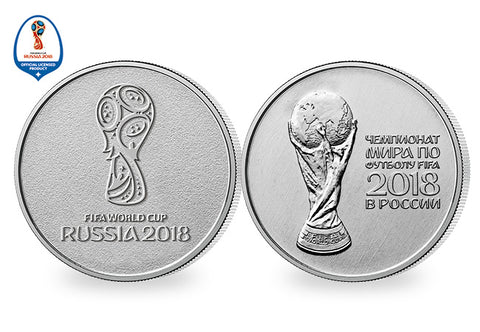 2018 FIFA World Cup Commemorative Coins - The Westminster Collection International