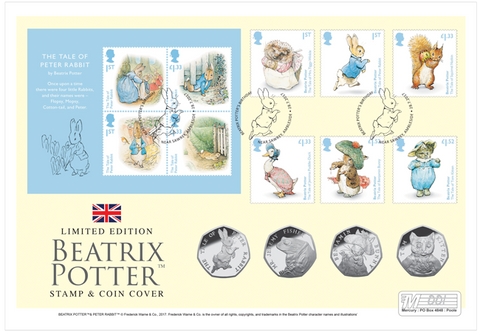 Beatrix Potter UK Ultimate Coin Cover