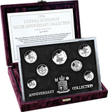 UK 1996 Silver Proof Decimalisation Set
