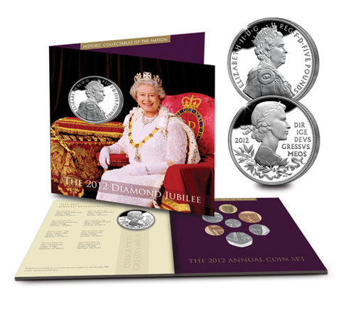 The 2012 Diamond Jubilee Coin Collection