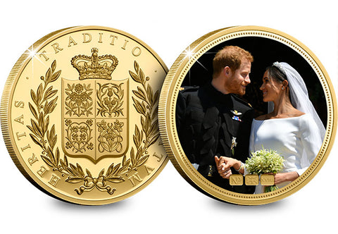 The Royal Wedding Gold-Plated NumisProof - The Westminster Collection International
